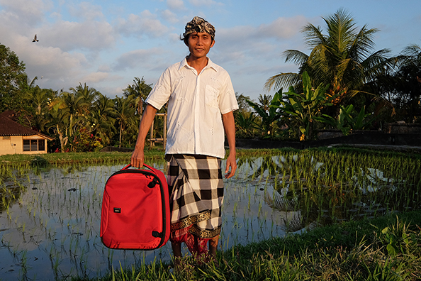 Crumpler bags - Bali : michael coyne documentary photographer and photojournalist