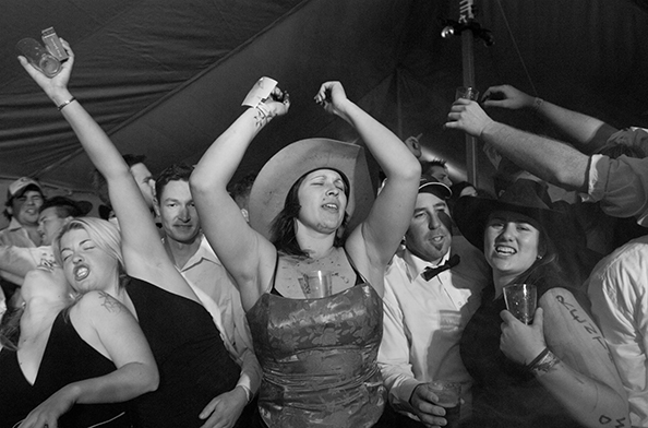 michael coyne documentary photographer and photojournalist: A country ball - Australia