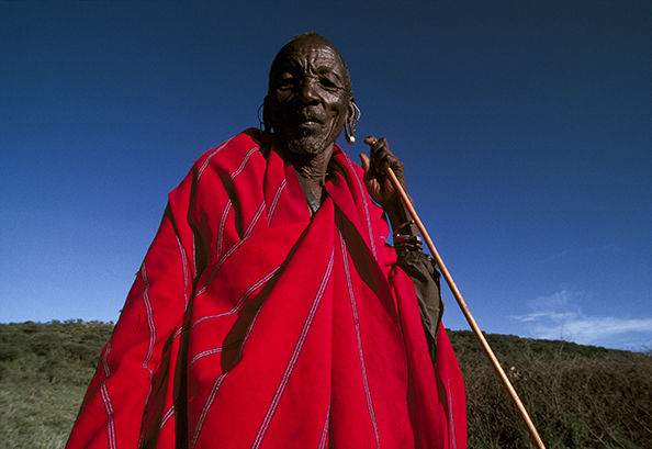 Maasai tribesman - Kenya : michael coyne documentary photographer and photojournalist
